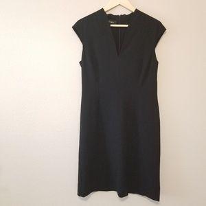 Escada Black Shift Dress Size 10